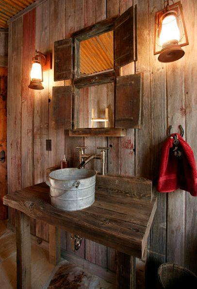 badezimmer rustikal und trotzdem cool | home interior Außen