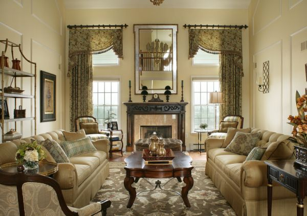 10 Traditional living room décor ideas - traditional living room ideas