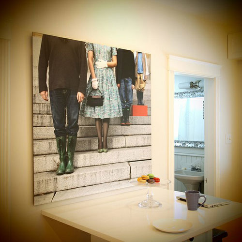 25 Stylish Ways Of Displaying Your Family Photos