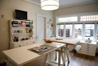 Beautiful craft room interior design ideas that make work ...