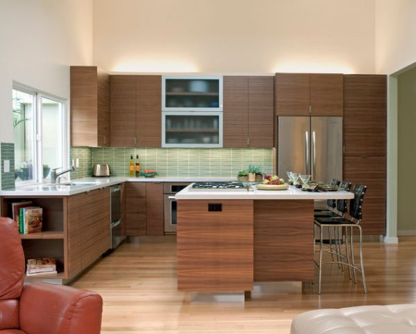 view gallery contemporary kitchen patterned backsplashes type kitchen dining