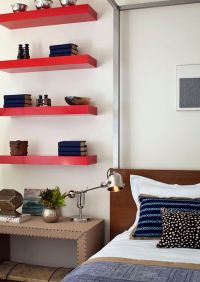 Simple, functional and space-saving floating wall shelving ...