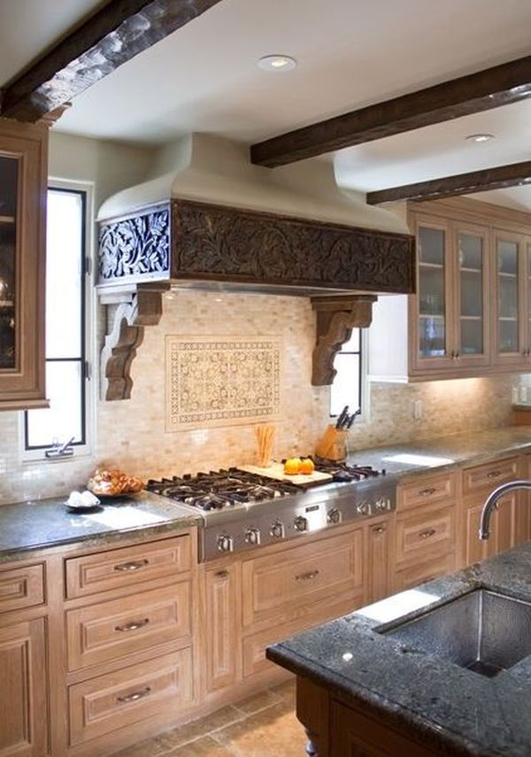 Functional Kitchen Island Designs Decorative Kitchen Hoods, Both Functional And Beautiful