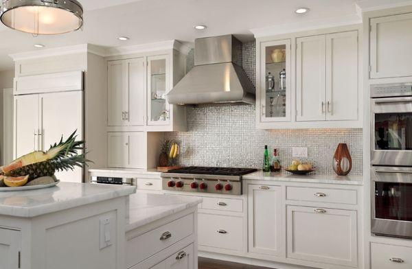 white kitchen metal backsplash black white kitchen backsplash ideas couchable