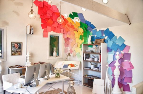 Decorate your home with a rainbow of colors