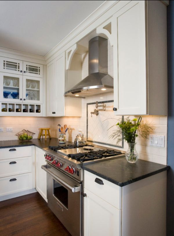 Stainless steel kitchen hood designs and ideas - kitchen hood ideas
