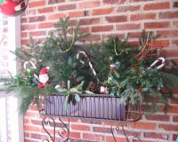 Christmas Outdoor Window Sill Decorations ...
