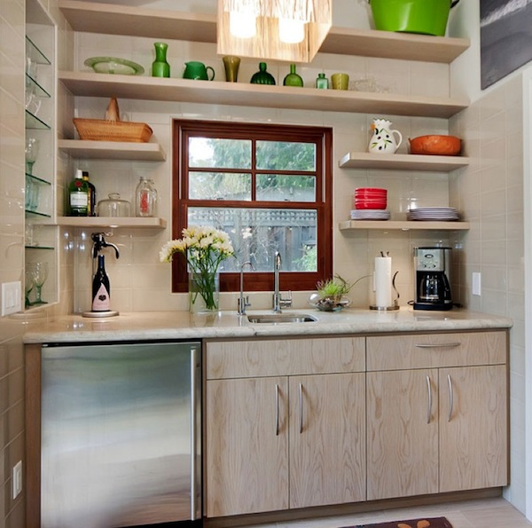 Beautiful And Functional Storage With Kitchen Open Shelving Ideas - open kitchen shelving ideas