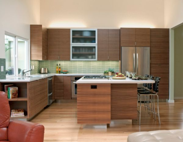 Elegant Midcentury Modern Kitchen Interior Design Ideas