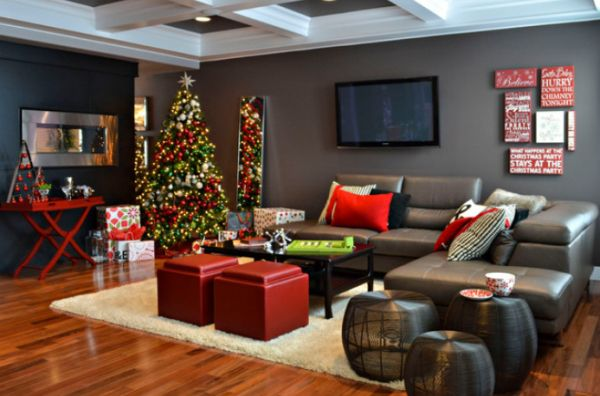 42 Christmas Tree Decorating Ideas You Should Take in - christmas room decorations