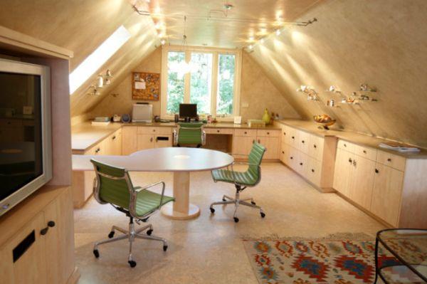 30 Cozy Attic Home Office Design Ideas - design ideas