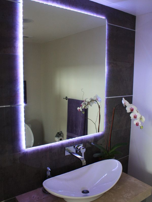 Bathroom Mirror Led Light Different Ways In Which You Can Use Led Lights In Your Home