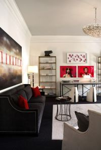 Decorating With Red & Grey: Ideas & Inspiration