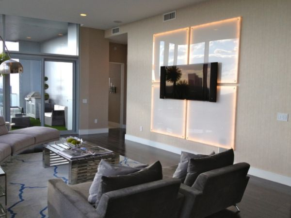 3d Wallpaper Designs For Living Room Different Ways In Which You Can Use Led Lights In Your Home