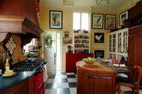 Checkerboard Kitchen Floor Design Ideas