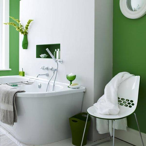 How To Use Green In Bathroom Designs - green bathroom ideas