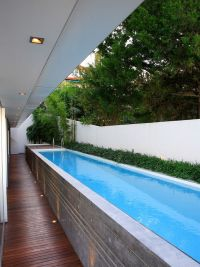 Lap Swimming Pool | Home Design and Interior Decorating Ideas