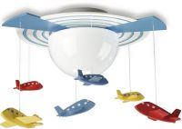 Airplane Light Fixtures for Decorating Kids Room | Light ...