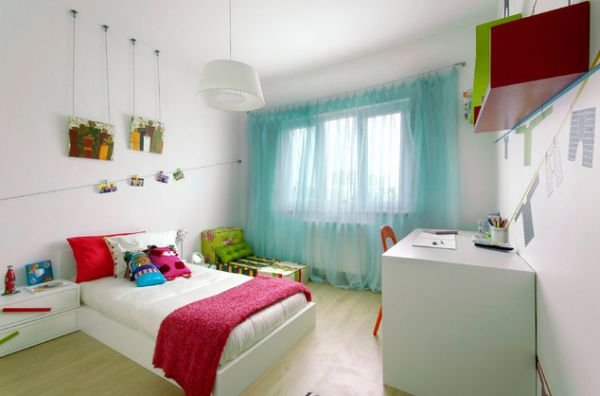 Curtain Designs And Styles For The Childrens Bedroom