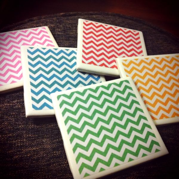 How To Make Your Own Coasters - 29 DIY Wonderful Designs