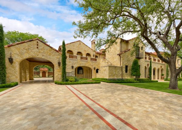 Mediterranean Architecture As Seen On House Exteriors And Facades
