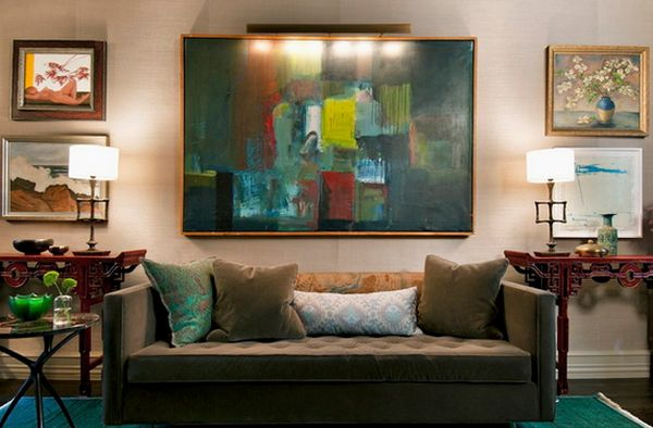 Painting Above Sofa 10 Tips On How To Arrange Your Furniture