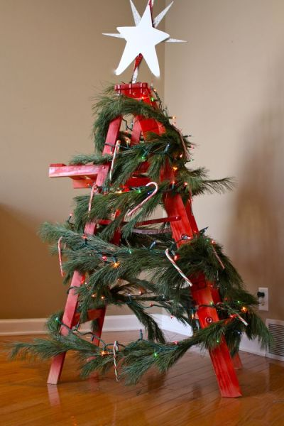 15 Non-Traditional Christmas Tree Ideas