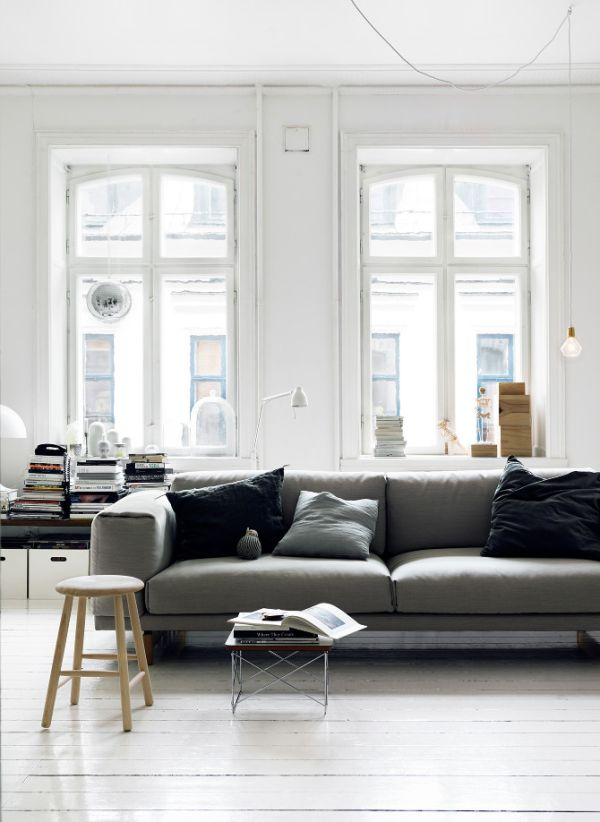 Sofa Design Grey Colour 50 Shades Of Grey: The New Neutral Foundation For Interiors