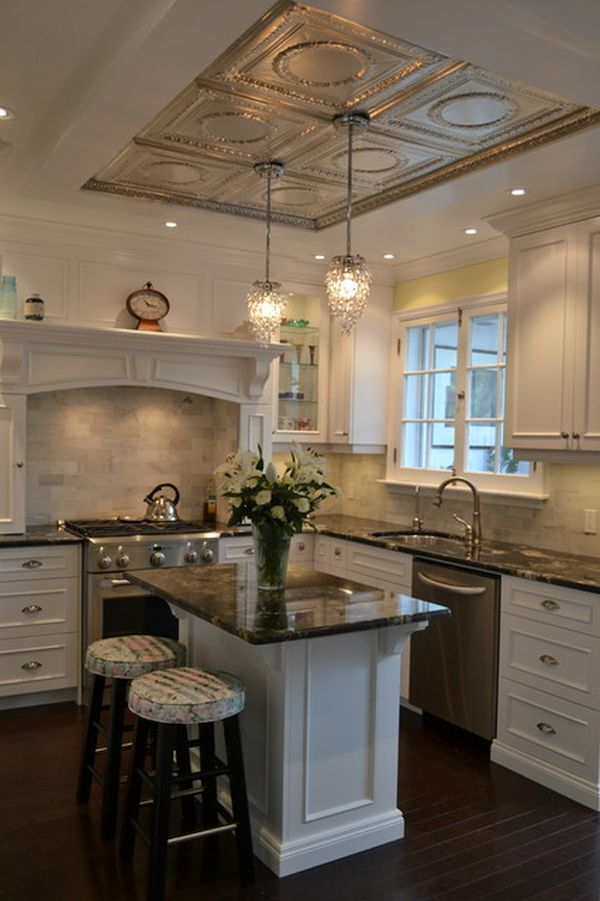 Craftsman Kitchen Island 20 Architectural Details Of A Stand-out Ceiling