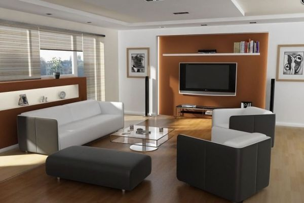 How to Secretly Arrange Furniture Around the TV - tv in living room