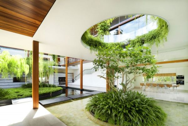 Jardin Moderne Fleuri The Willow House – Embraces The Beauty And Serenity Of The