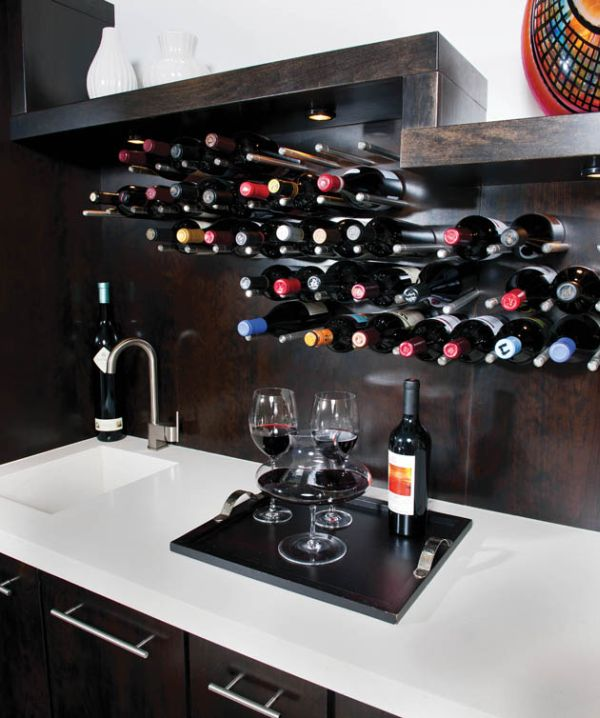 Kitchen Island Storage Cabinets How You Can Incorporate Wine Racks Into Your Design