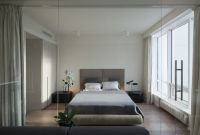 An Ultra Modern Moscow Apartment With A Glass Wall Between ...