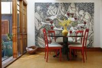 Different Ways To Use Beautiful and Large Art Pieces