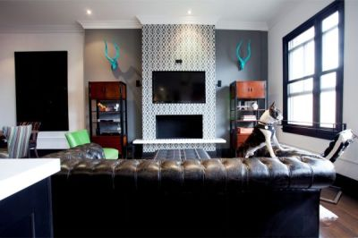Express Yourself: Unique & Edgy Fireplace Decor