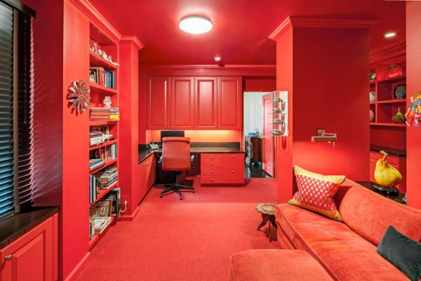 Babyzimmer Rot Dipped In Cherry: Monochromatic Rooms