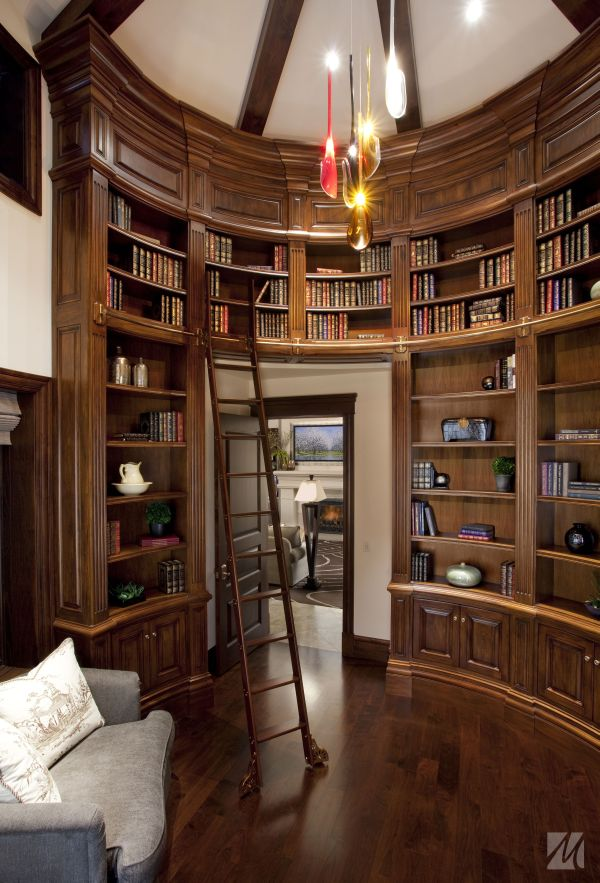 62 Home Library Design Ideas With Stunning Visual Effect - home library ideas