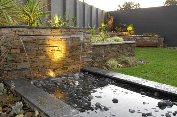Grillplatz Bauen 11 Falling Water Features Guaranteed To Give Your House A