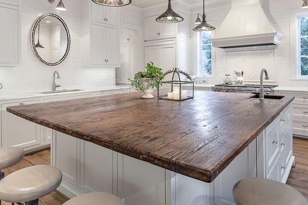Wood Island Tops Kitchens 20 Unique Countertops Guaranteed To Make Your Kitchen