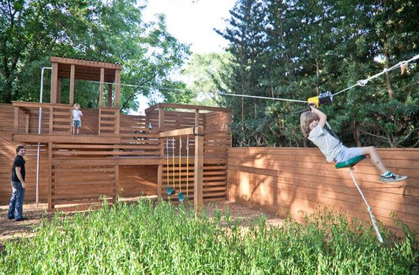 Turning The Backyard Into A Playground u2013 Cool Projects Kids Will - home playground ideas