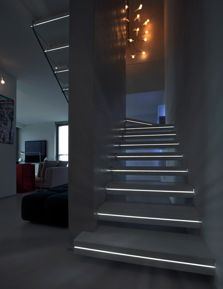 Eclairage Led Escalier Interieur Modern Lighting Ideas That Turn The Staircase Into A