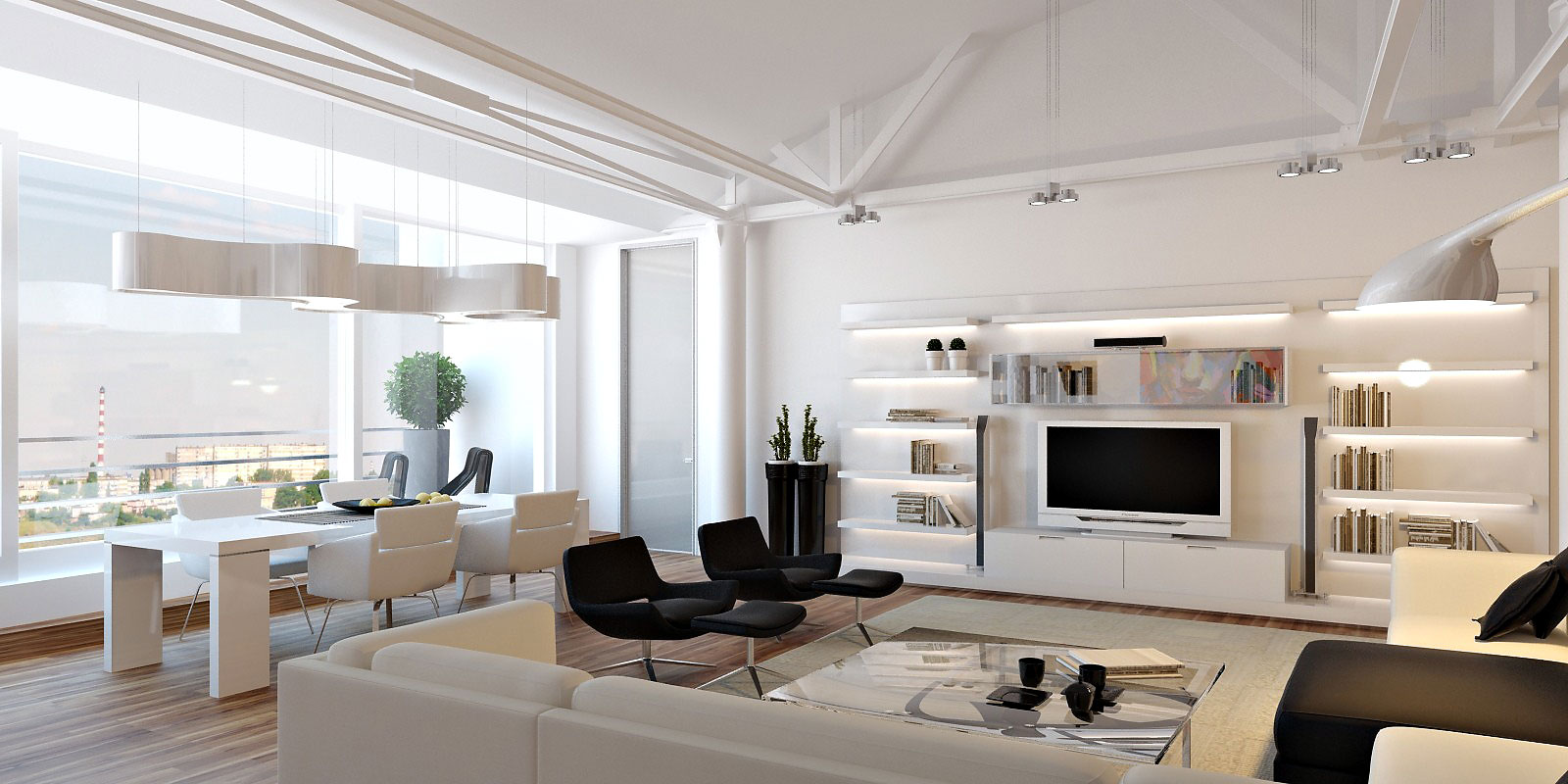 Modern Loft Interior Design The Pros And Cons Of Living In A Loft