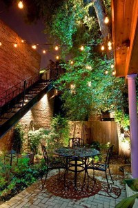 Outdoor Magic  How To Decorate With Fairy lights