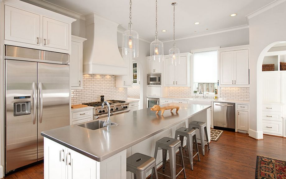 years shown stainless steel kitchen appliances furniture cambridge stainless steel top kitchen island white