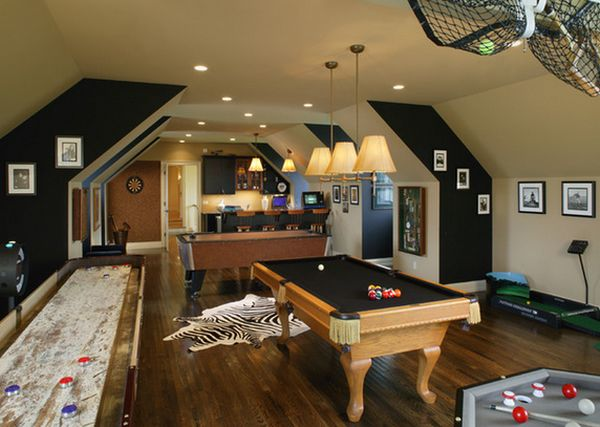 game and entertainment rooms featuring room ideas