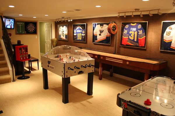 Game And Entertainment Rooms Featuring Witty Design Ideas