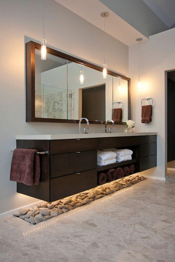 floating house bathroom vanity