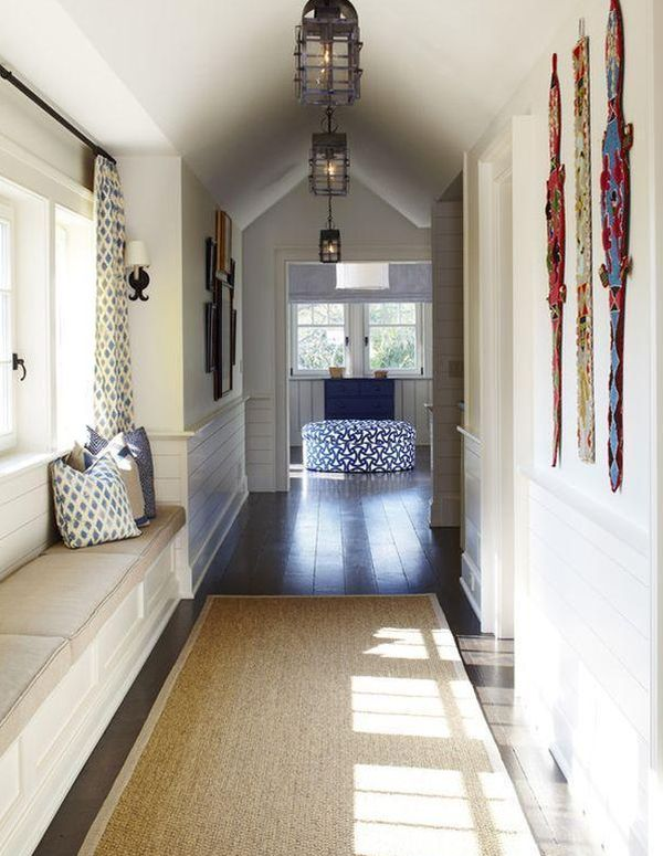 Black Floral Wallpaper How You Can Dress Up Narrow Spaces Using Hallway Runners