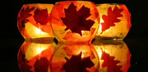 Fall Leaves Dancing Wallpaper 16 Luminaries And Lanterns To Light Up Your Autumn Party