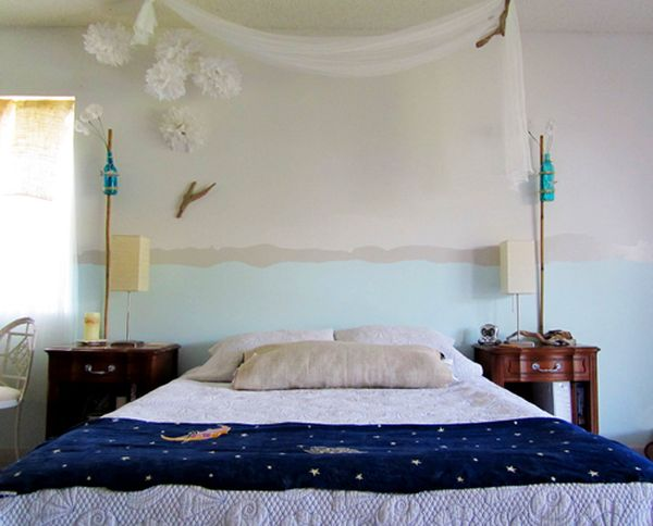 Cool Painting Ideas That Turn Walls And Ceilings Into A Statement - paint designs for bedrooms